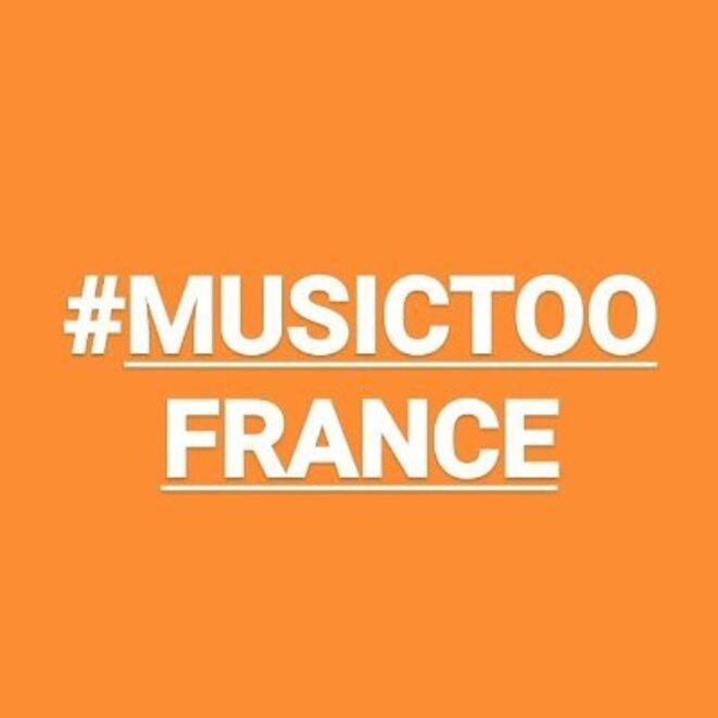 Le logo de la campagne #MusicToo. © Capture d'écran Twitter