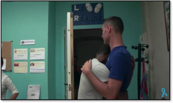 Extrait du documentaire de Sonia Rolland, « Du rejet au Refuge »