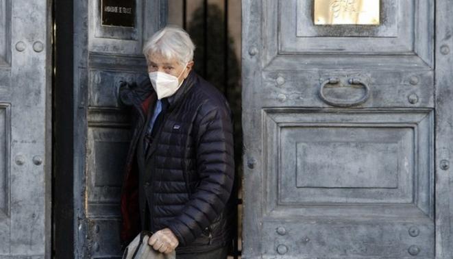L'écrivain Corrado Augias. © Riccardo de Luca/ANADOLU/AFP
