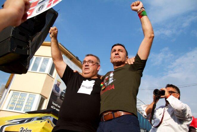 Muriz Memić et Davor Dragičević. © LG