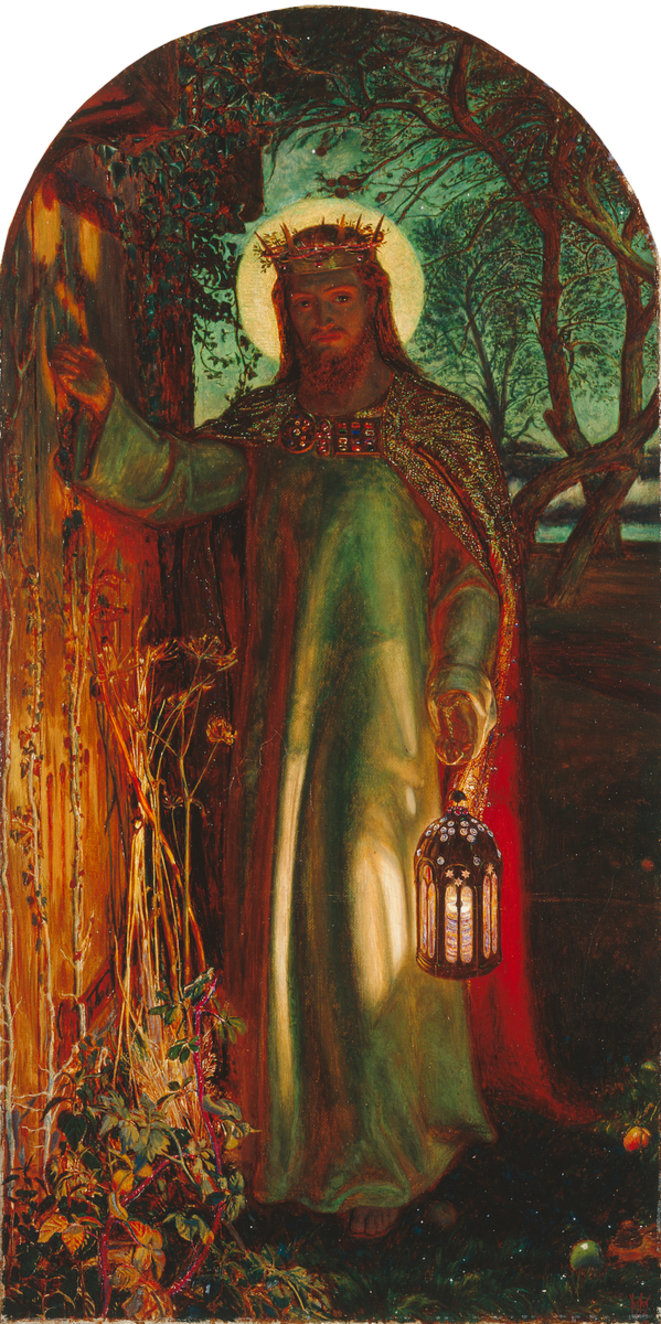 The Light of the World, 1851-1853. © William Holman Hunt