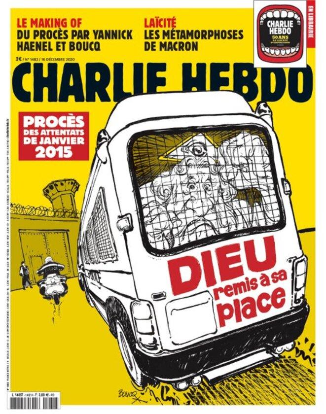 Charlie Hebdo n° 1482 du 16 décembre 2020