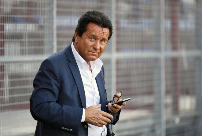 Waldemar Kita, propriétaire du FC Nantes et actionnaire de référence du laboratoire de produits esthétiques Vivacy. © Philippe Desmazes / AFP