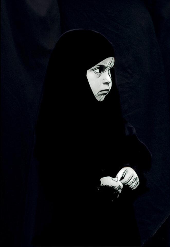 """Crédit Photo : Michel Setboun - """"30 mars 1979 - référendum pour la constitution islamique"""""""