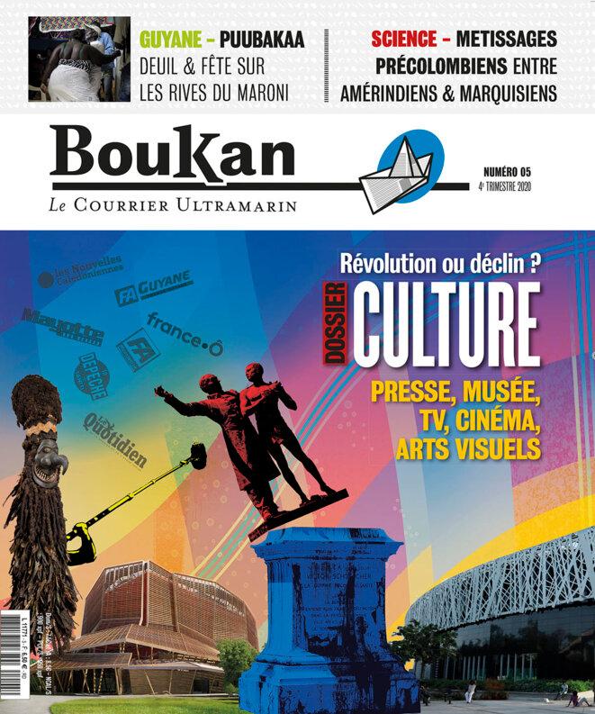 Couverture du N°05 de Boukan