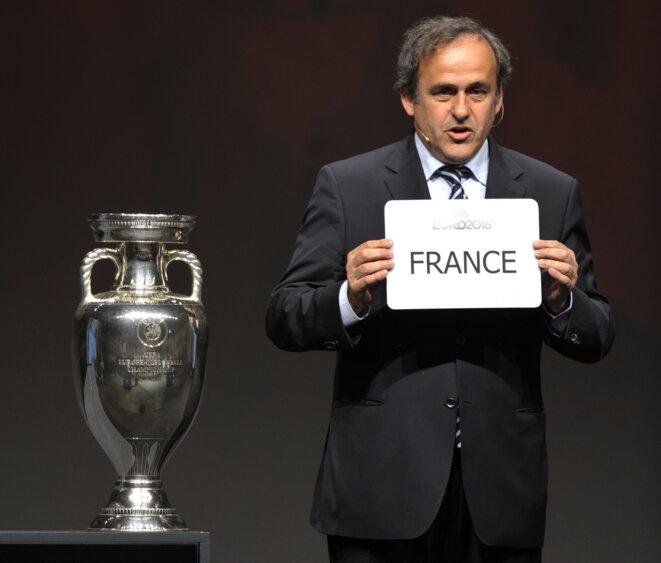 FIFA - UEFA Platini-euro