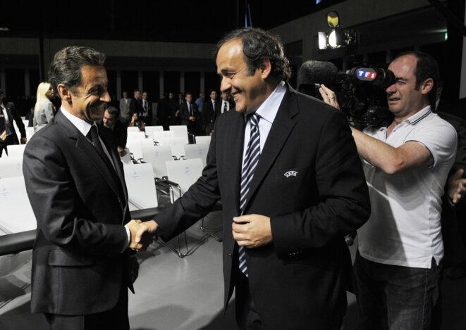 FIFA - UEFA Sarko-platini-geneve-2010