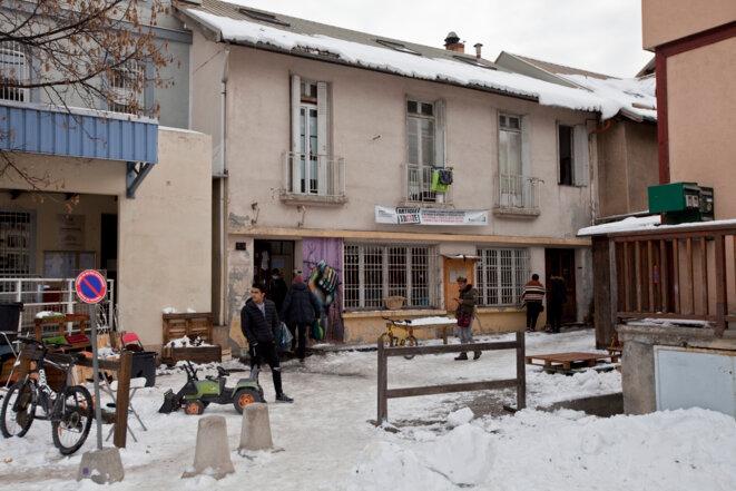 La neige est arrivée, la vie des refugiés va se compliquer © Durand Thibaut