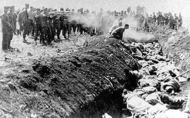 Massacre de Babi Yar en Ukraine