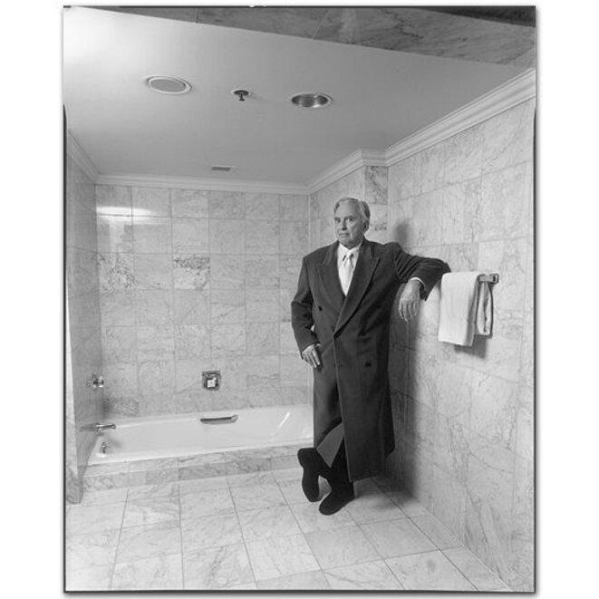 Gore Vidal, 1995 © Mary Ellen Mark
