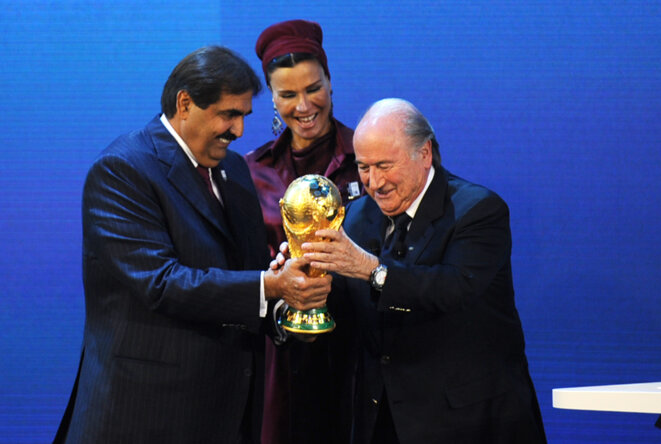 FIFA - UEFA Blatter-emir
