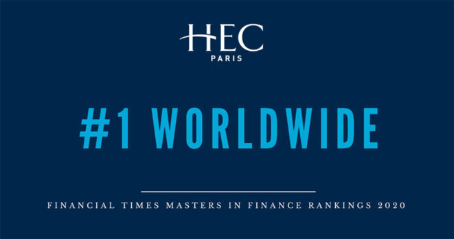 HEC Paris Number 1 Worldwide Based on Financial Times Ranking