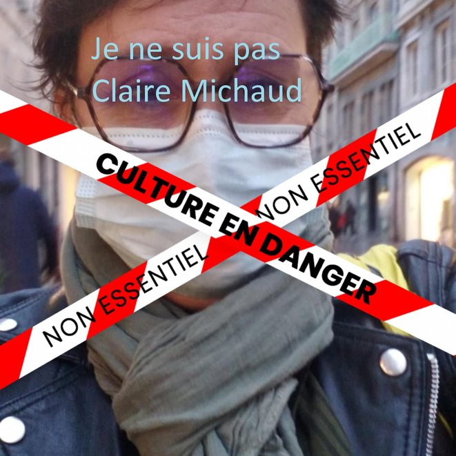 Selfie de Claire Michaud © Claire Michaud