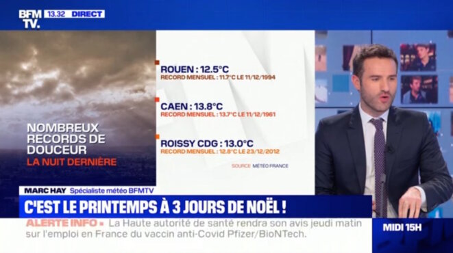 """record"" capture d'écran © BFMtv"