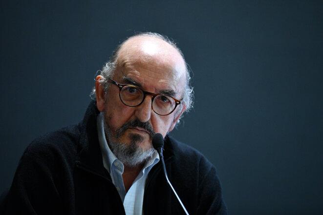 Jaume Roures, lors de la conférence de presse du 21 octobre. © Franck Fife / AFP