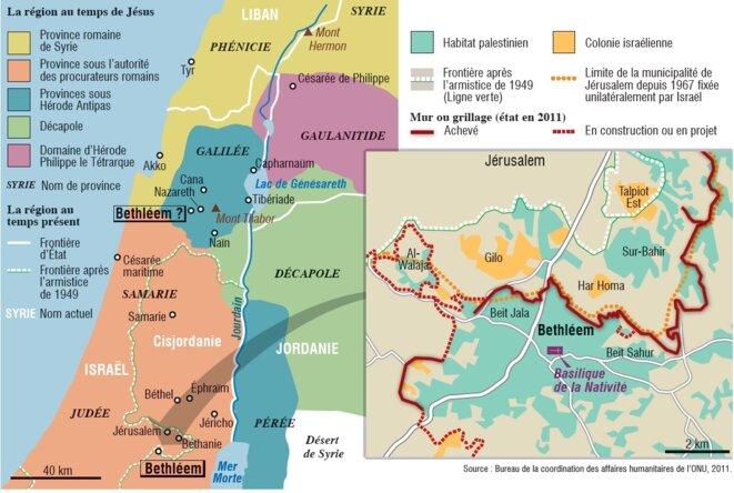 Bethléem, une géographie énigmatique