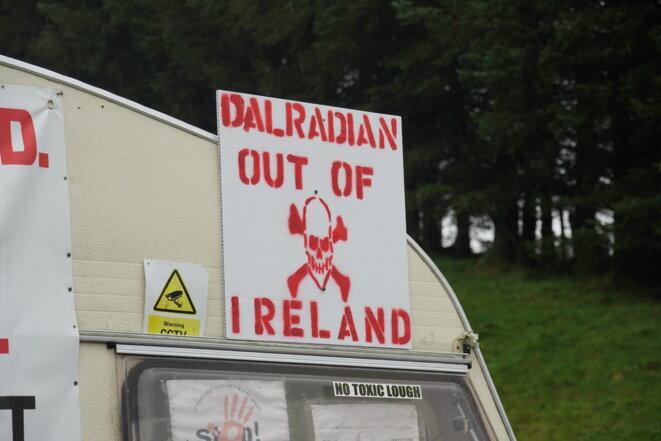L'entreprise canadienne Dalradian Gold n'est pas forcément la bienvenue. © JD