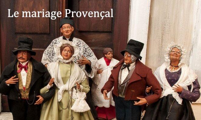 Le mariage provençal © Alain Laugier