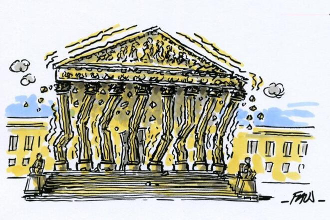La Cour Suprême est-elle en train de s'effondrer ? © Fauj