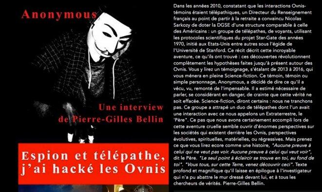 A priori, l'interview de l'impossible ; a posteriori, l'on verra bien. © Anonymous et Pierre-Gilles Bellin