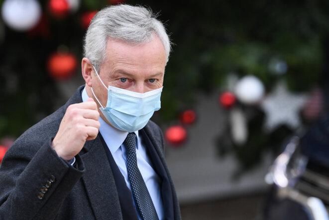 Bruno Le Maire, le 9 décembre, à l'Elysée. © Alain JOCARD / AFP