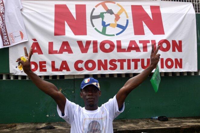 En Côte d'Ivoire, octobre 2020. © Sia Kambou / AFP
