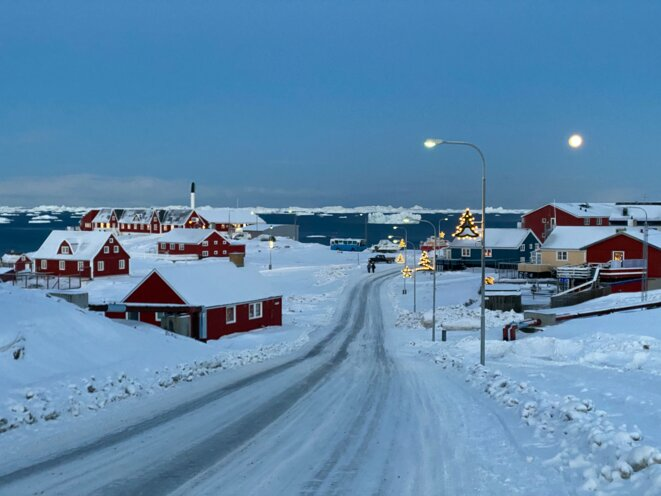 La ville du nord de Groenland avec plus de 4500 habitants. © Mortaza Behboudi / 29 décembre 2020