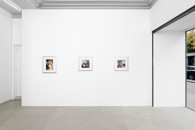 """Vue de l'exposition """"Renée"""" de Lisetta Carmi, Ciaccia Levi, Paris, 22 octobre 2020 - 23 janvier 2021 © Lisetta Carmi, Martini & Ronchetti (Gênes), Ciaccia Levi (Paris) Photo: Aurélien Mole"""
