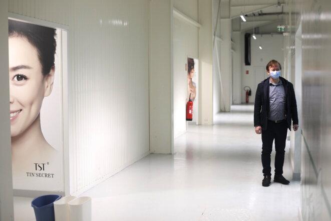 Jacques Lin, responsable de l'usine de cosmétiques. © JP