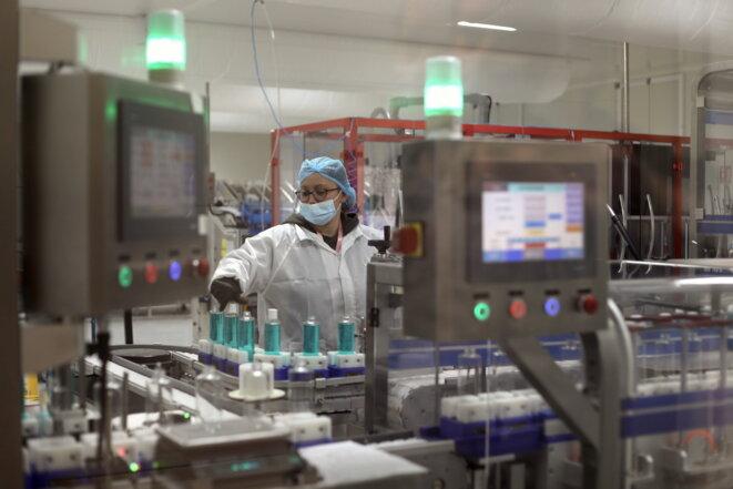 Une ligne de production de l'usine. © JP