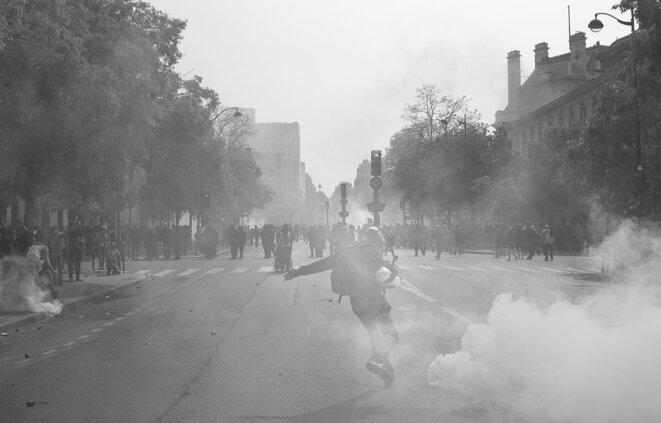"""""""Manifestation du 1er mai Paris"""" © Gael Derouche"""