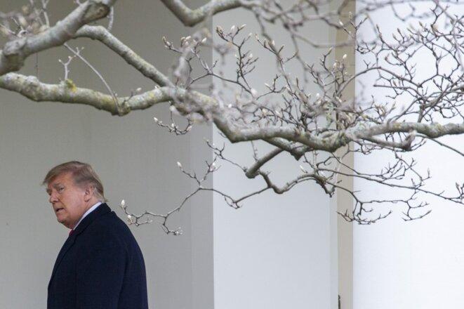 Trump à la Maison Blanche le 31 décembre 2020. © Asos Katopodis/GETTY IMAGES NORTH AMERICA/GETTY IMAGES/AFP