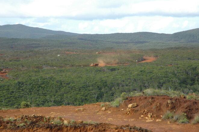 Site en cours de dégradation pour l'usine du Sud (15 mars 2007) © I. Leblic