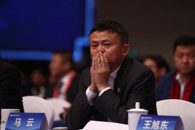 Jack Ma en novembre 2009 à Hangzhou. © Ni Yanqiang/Imaginechina /AFP