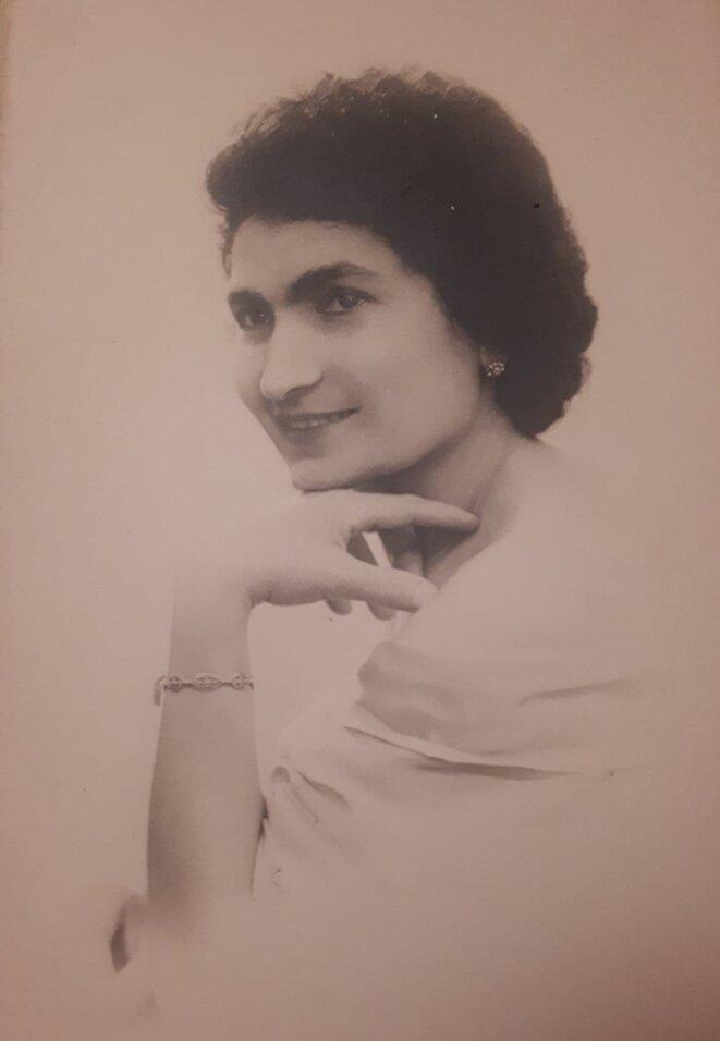 Véronique Mérabischvili, l'arrière-grand-mère de Lola © DR