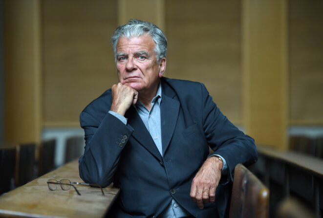 Olivier Duhamel, le 19 mai 2016. © STEPHANE DE SAKUTIN / AFP