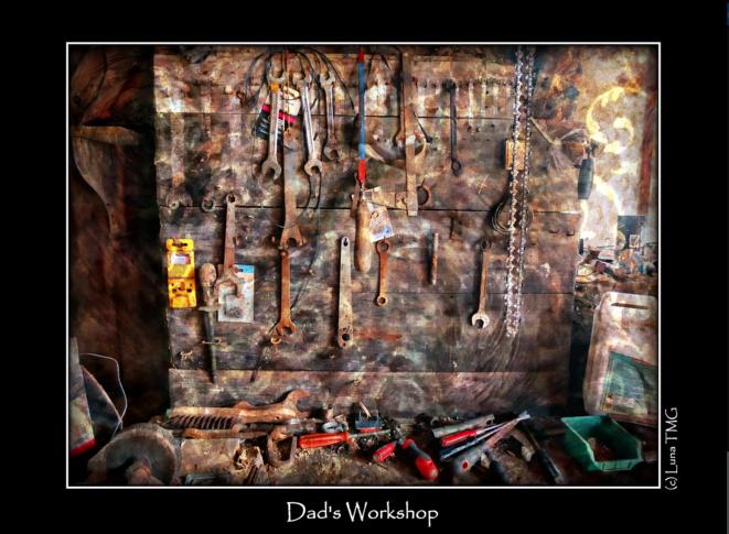 Dad's Workshop / L'atelier de mon père © Luna TMG Flickr