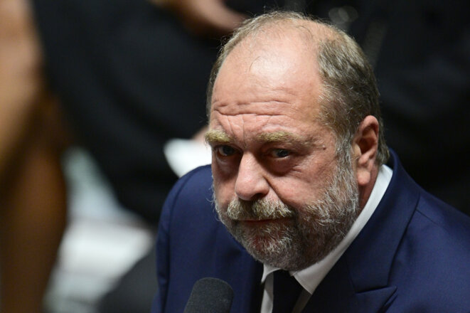 Le ministre de la justice Éric Dupond-Moretti. © Martine Bureau / AFP