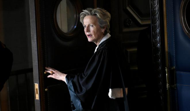 Éliane Houlette, ex-patronne du PNF. © Lionel Bonaventure / AFP