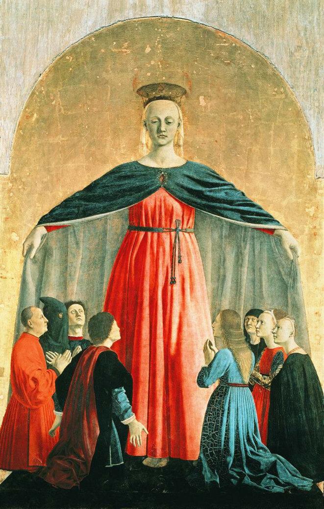Madonna della Misericordia © Piero della Francesca