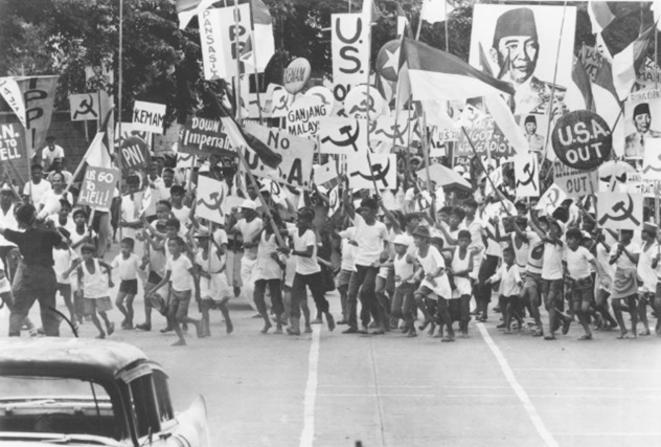 Manifestation du PKI