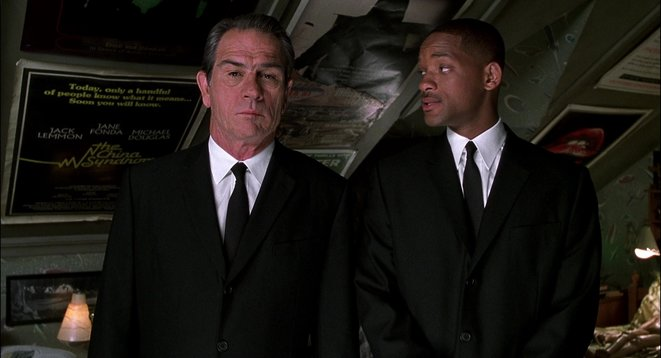 """Men in Black"" de Barry Sonnenfeld © Sony Pictures"