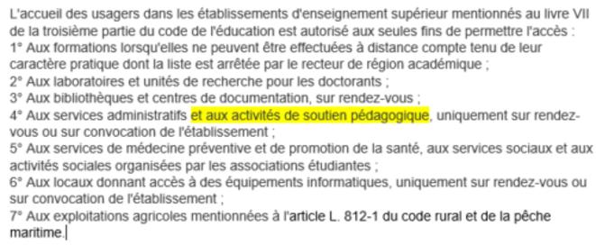 Article 34 du décret du 29 octobre 2020, modifié par le décret du 9 janvier 2021