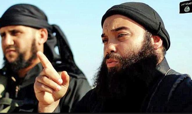 Boubakeur el-Hakim, photo de propagande de l'État islamique. © DR