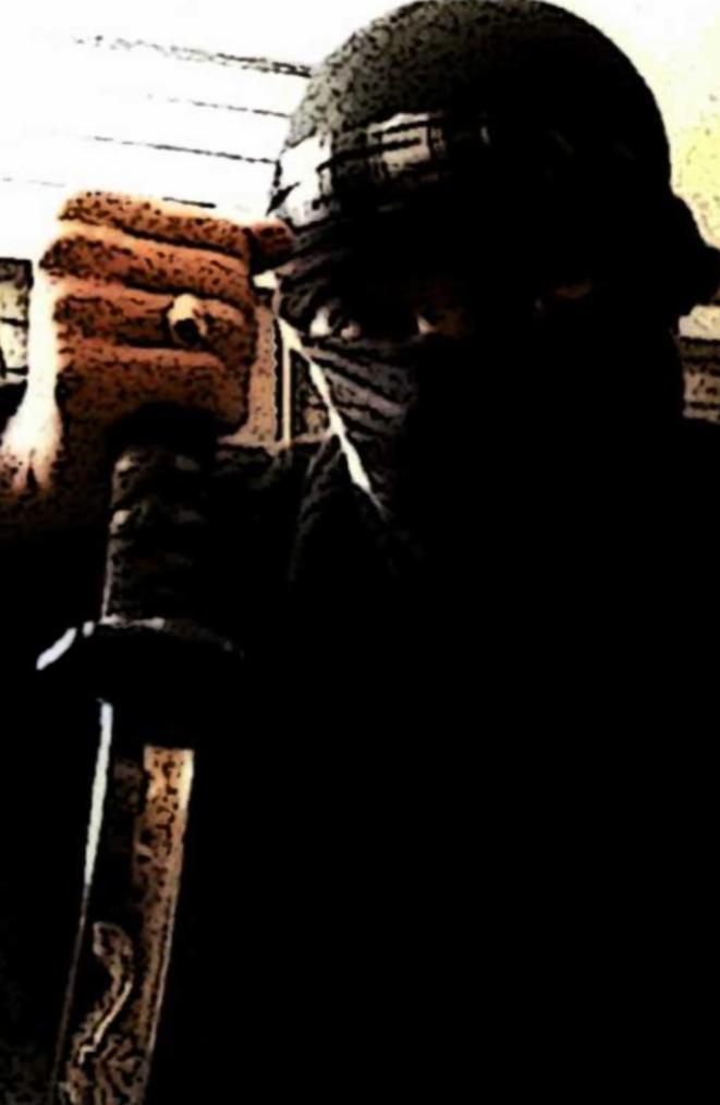 """Salah-Eddine Gourmat, le djihadiste français piégé par """"Ulysse"""". © DR"""