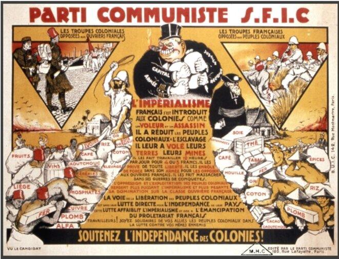 Annexe 2 : Affiche éditée par le PCF au début des années 30. © PCF