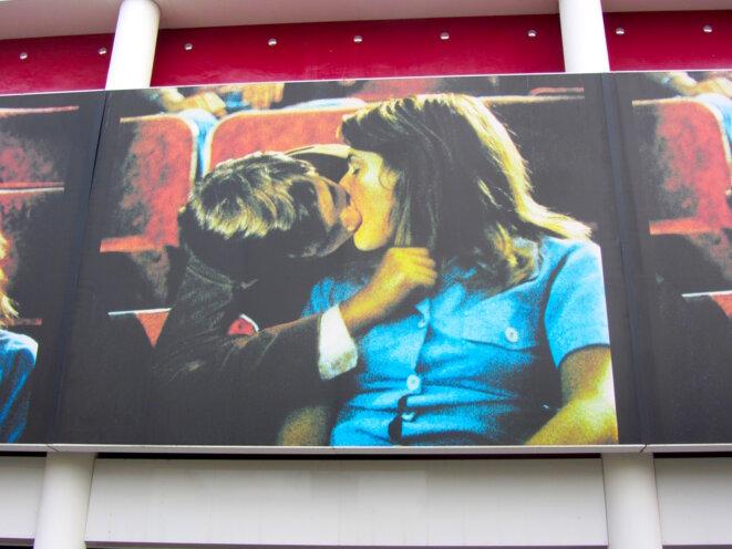 Devanture du Cinéma Jean Esutache à Pessac © POL