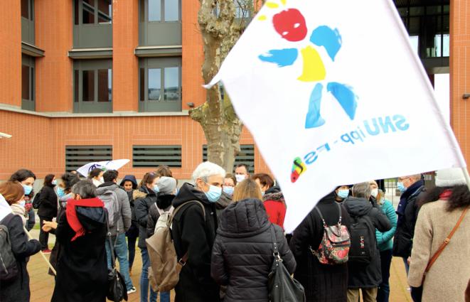 Manifestation mercredi 13 janvier 2020, à Toulouse. © ER