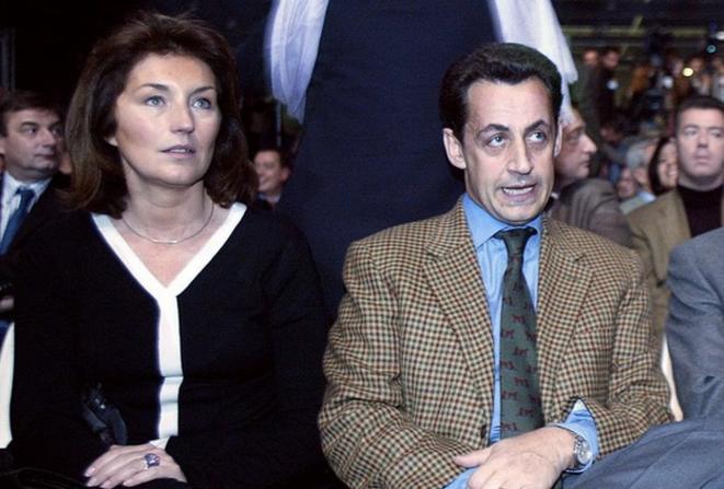 Cécilia Sarkozy en 2002.