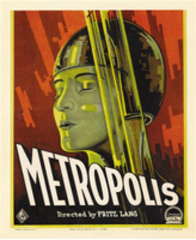 """Affiche de """"Metropolis"""""""